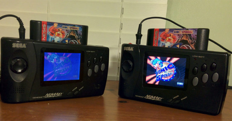 Sega Nomad Mods I: New LCD Screen
