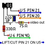 Pixel-art schematic. Color coded for your convenience
