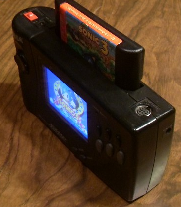 Sega Nomad Mods II: Internal Battery (obsolete)