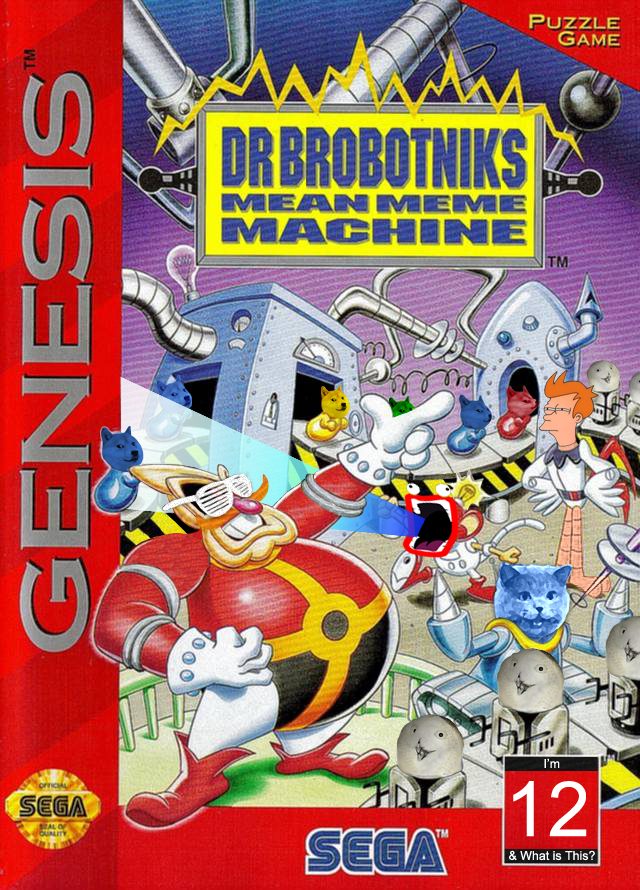 Dr. Brobotnik's Mean Meme Machine