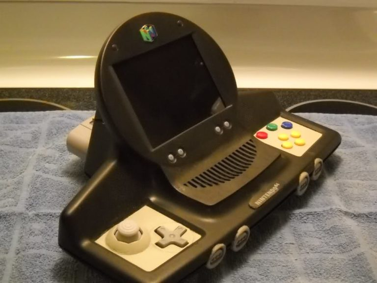 FEATURED: The N-terprise 64, N64 Console Mod by Monkeynaut