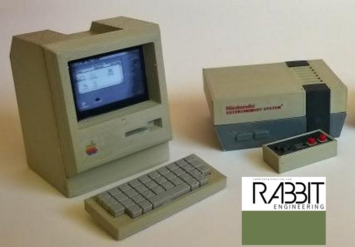 FEATURED: Mini 3D Printable Consoles by Rabbitengineering