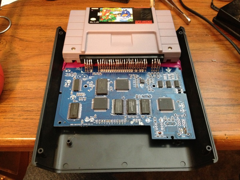SNES Board Replacement.