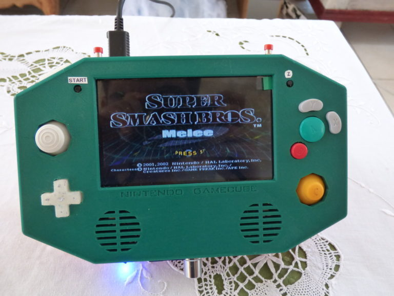 FEATURED: The Protocube V2 3D Printed Gamecube Portable by Protobug