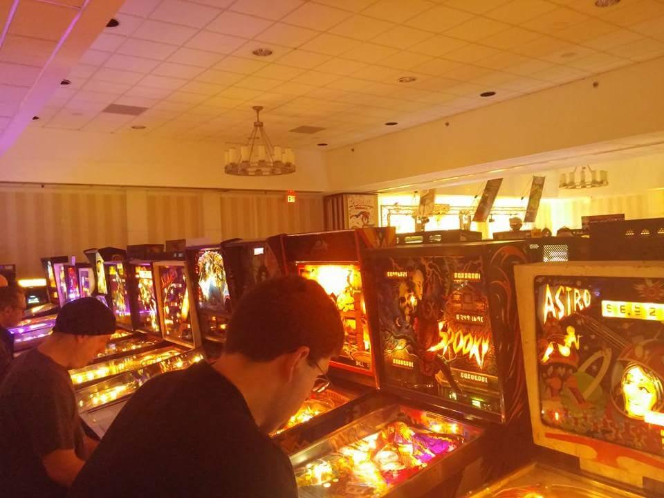 Pinball Rows.
