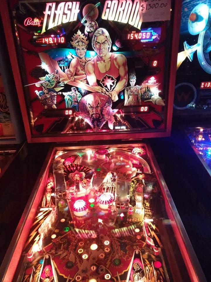 Flash Gordon Pinball.