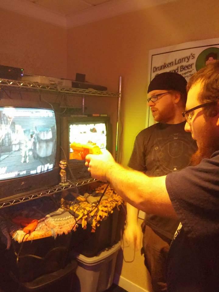 Parker on Zombie Duty.