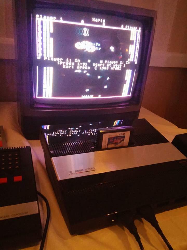 The behemoth Atari 5200.