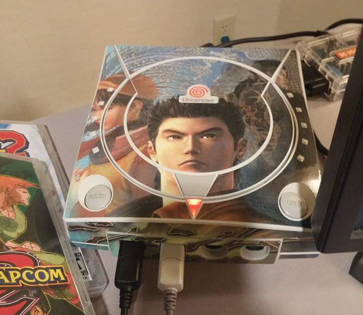 A Shenmue themed Dreamcast? I see...