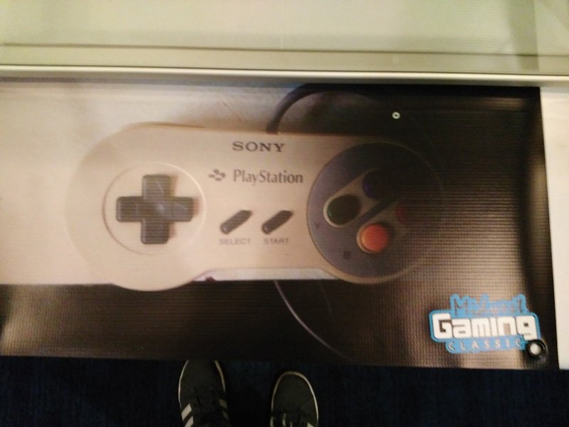 Nintendo Playstation poster.