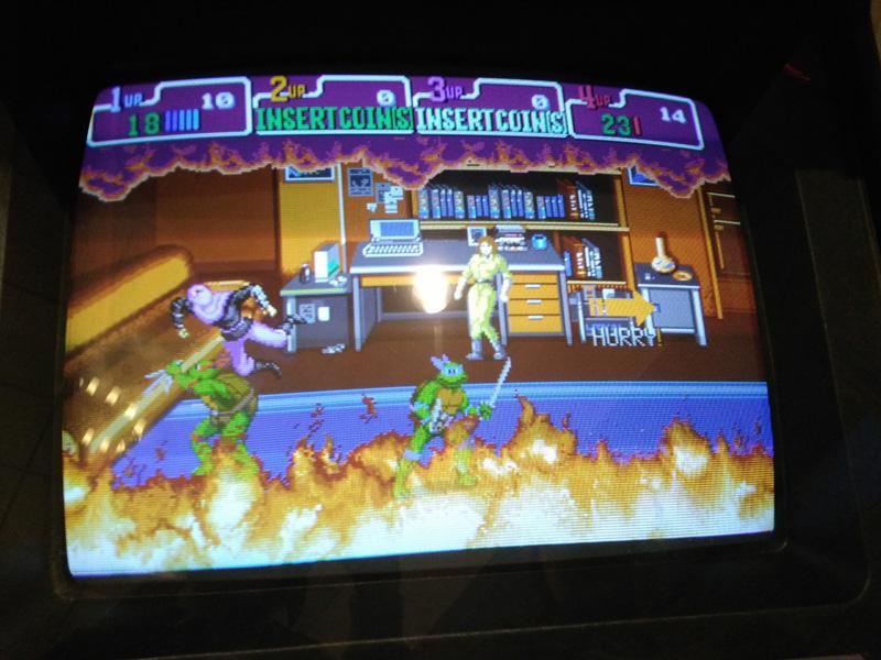 TMNT Arcade.