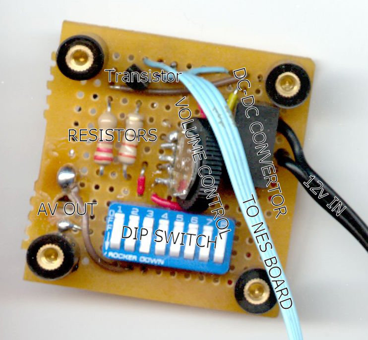 Back of Video Circuit