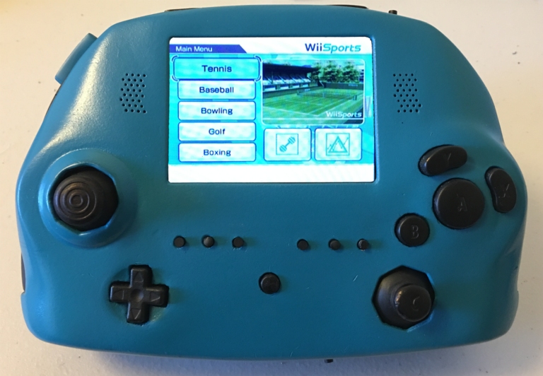 FEATURED: Spencer Richardson's Dark Delfiino Wii Portable